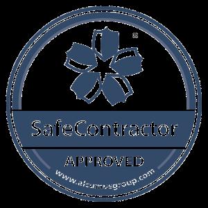 Seal colour SafeContractor Sticker