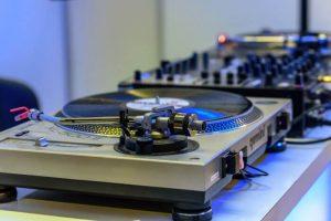 Event DJ stand
